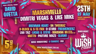WiSH Outdoor - Mexico - Line-up Bud Light WiSH Outdoor Mexico 2019 | Facebook