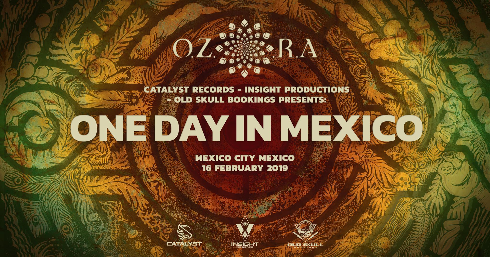 OZORA One Day in Mexico 2019