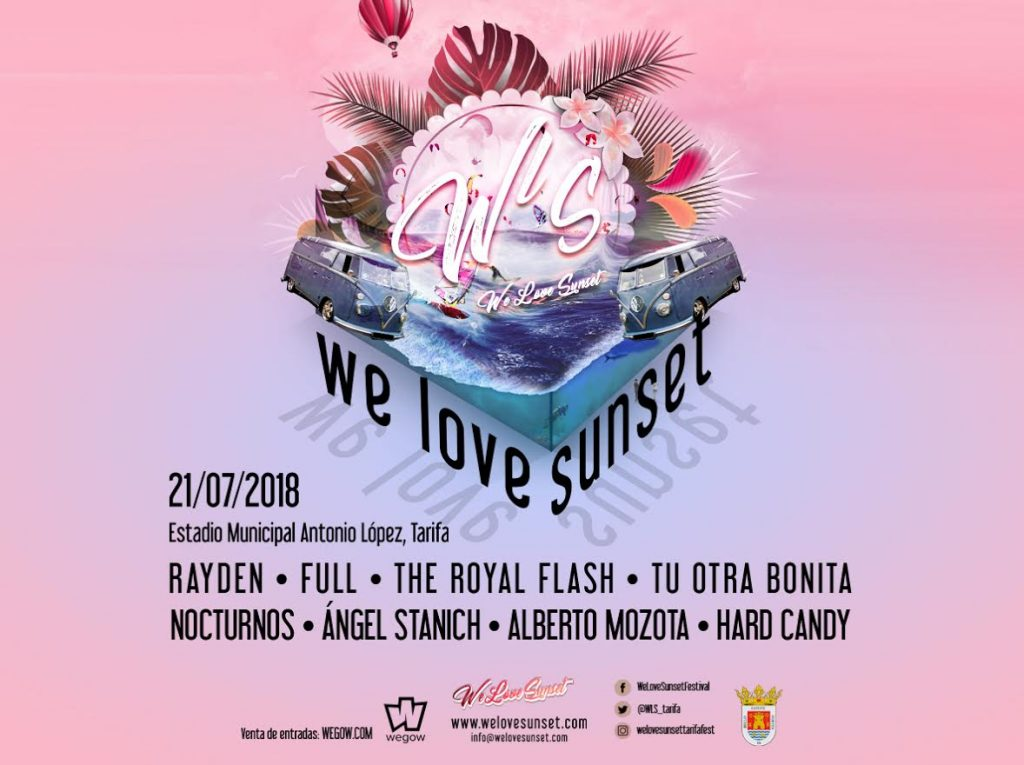 We Love Sunset Tarifa 2018