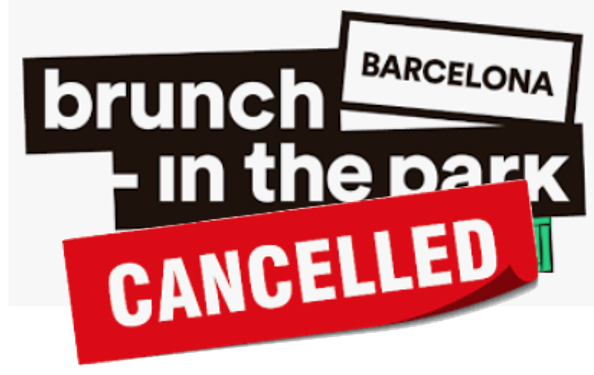 Brunch -In the Park (Brunch in the City) Barcelona 2020
